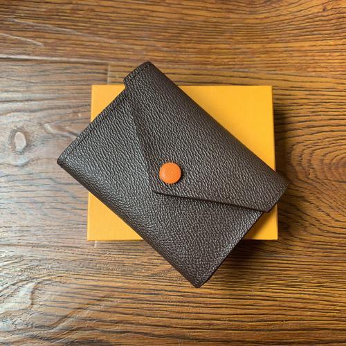 41938 Chegada Nova Carteira de couro Titular Curto Mulheres Carteiras bolsa com zíper Patchwork Moda Painéis Carteiras na moda do cartão Bolsa Coin
