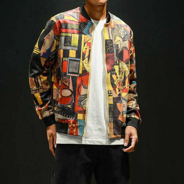 Hip Hop Chaqueta de aviador Hombres Ropa Japonesa Streetwear Hombres Abrigo de chaqueta 5XL Chaquetas y abrigos para hombre Tamaño grande