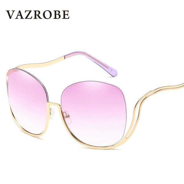 wholesale 2018 Oversized Women's Sunglasses Vintage Sun Glasses for Ladies Designer Fashion Female Shades Large Face Retro