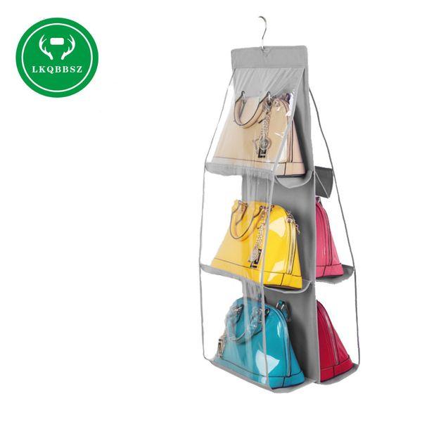 Sac à main non-tissé suspendu sac de rangement sac à main fourre-tout sac de rangement Organisateur Closet Hangers rack