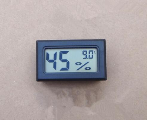 Mini LCD Termómetro digital Temperatura del higrómetro Interior Conveniente Sensor de temperatura Medidor de humedad Instrumentos de calibre