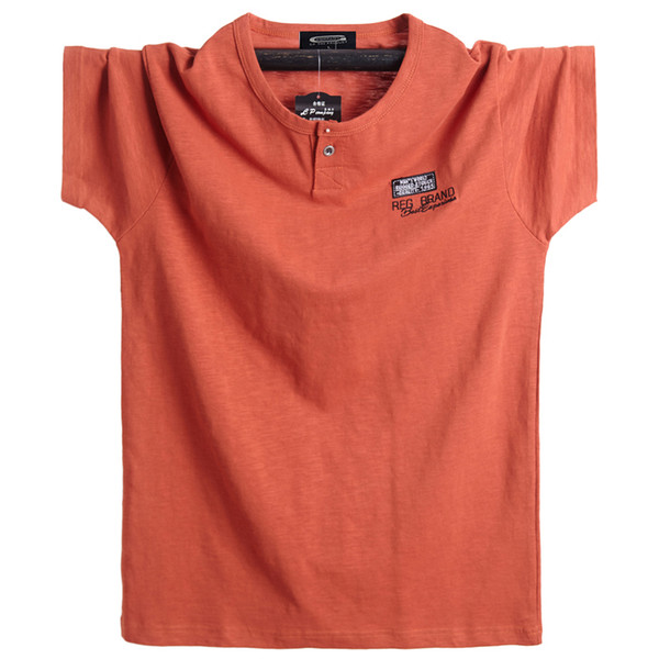 Mens Big Plus Size 5XL 6XL Black Cotton Printed  T Shirts Tops Tee