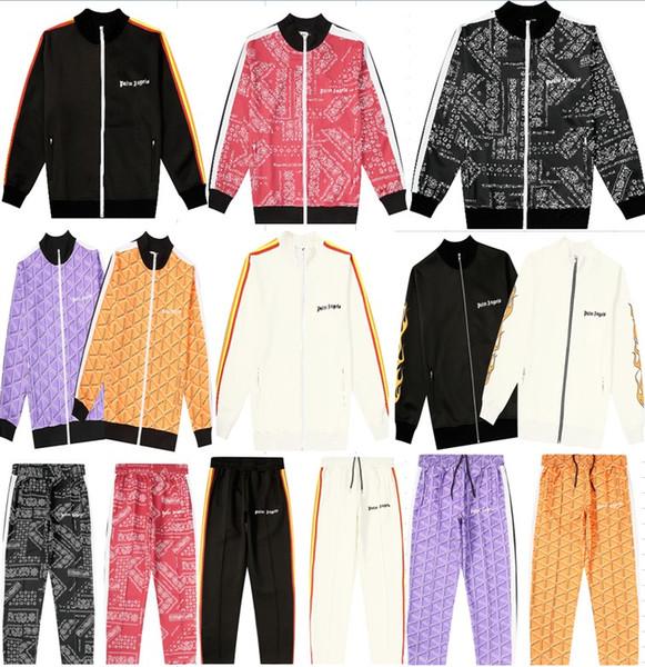2020 Yeni Moda Palmiye Melekleri ceket Kadın Erkek Yüksek Kalite Sonbahar Kış Streetwear Casaul Palmiye Melekleri pantolon S-XL 23 tarzı