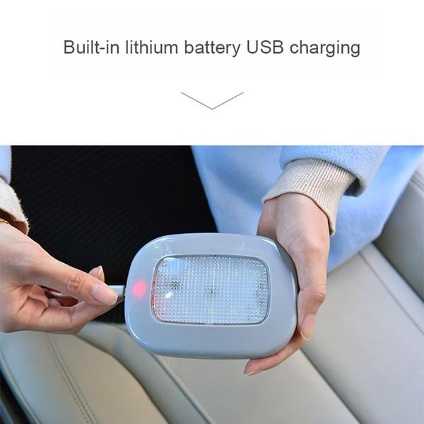 Car Truck Interior Luz de lectura inalámbrica Techo Celling Lámpara LED magnética con cable USB de carga VS998