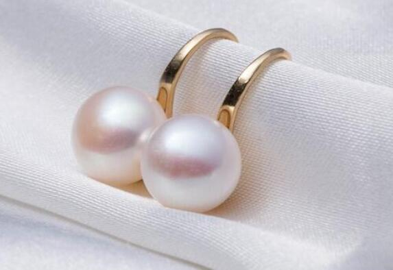 8-9MM Pearl Earrings Jewelry 925 Sterling Silver White Pearl Push-back Earring For Women sterling-silver-jewelry