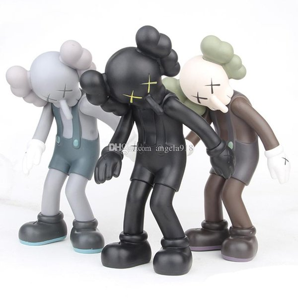 3 Styles originalfake toys New Cartoon Long nose male Bend over KAWS Action Figures toy 28cm/11 inches Gift For Kids C6274