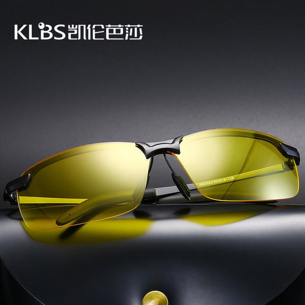 Gafas de gafas de sol de visión nocturna Gafas de sol deportivas de metal antideslumbrante Gafas de conducción polarizadas al por mayor al por mayor 3043