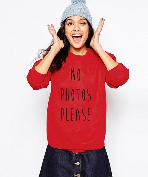 2019 frühling winter weibliche sweatshirt hoody keine fotos bitte frauen brief gedruckt frauen anzüge pullover weibliche kawaii heißer verkauf