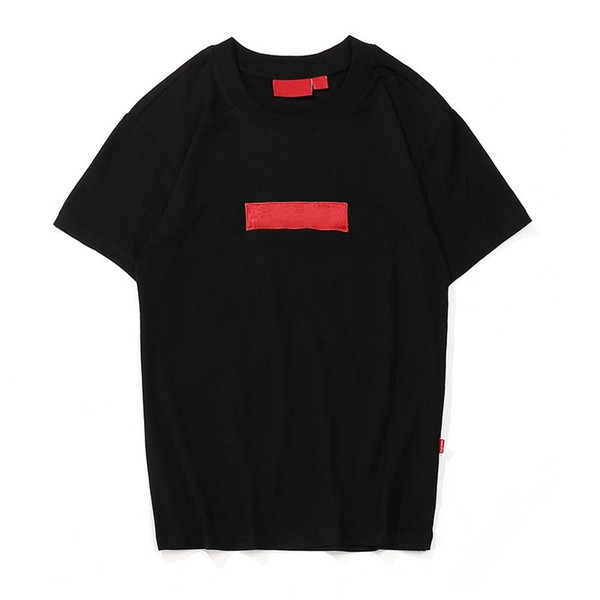 New classic suprême mens brand trend box logo t-shirt letter printing designer luxury T shirt hip-hop fashion casual comfort cotton T-shirt