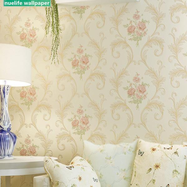 İskandinav tarzı çiçek desen restoran yatak odası düğün odası oturma odası çalışma cafe internet cafe shop TV arka plan duvar kağıdı