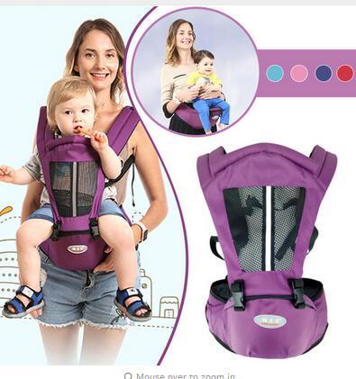 Nouveau-né porte-bébé Kangourou Toddler Sling Wrap Portable Infantile Hipseat Bébé Soins Taille Tabouret Réglable Hanche Siège 0-36 Mois