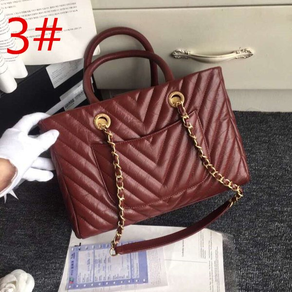 Brand black/blue/red color small size 21cm-30cm-14cm little cowhide real leather women's handbags ladies totes composite bag gift