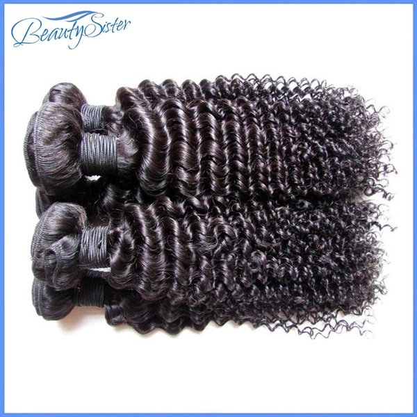 Atacado barato brasileiro kinky encaracolado extensões de cabelo humano tece feixes 1 kg 10 pacotes muito natural cor preta 5a grau 100 gb