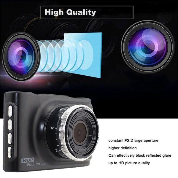 "3"" Full HD 1080P Car DVR CCTV Dash Camera 170 Degree Wide Angle Lens G-Sensor Vehicle Video Cam Recorder Support TF Card"