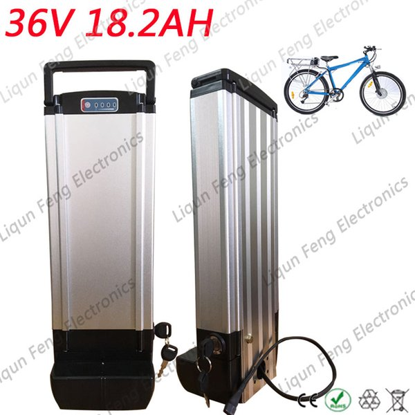 36 Volt 1000W 500W 350W Ebike Replacement Battery 36V 18AH Rear Rack Li Ion Battery Deep Cycle For Bafang motor.