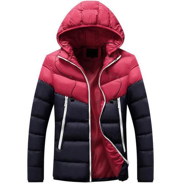 2020 Mens конструктора курток зима Дорогие мужчины вниз куртка пальто Повседневного Hip Hop Теплый Модный пиджак Мужского Downs PARKAS 5 цветов Дополнительный