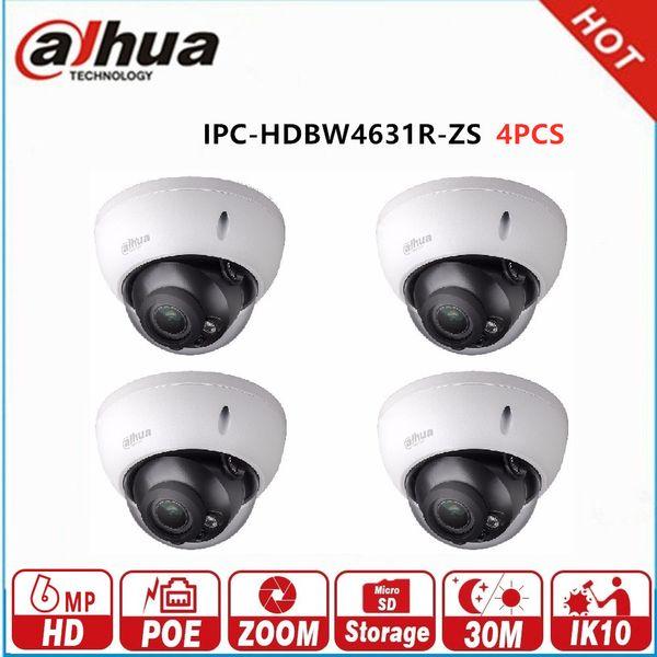 DAHUA IP Camera 6MP POE IPC-HDBW4631R-ZS IR 50M IP66 2.7~13.5mm Motorized Len Smart Detection IP67 Micro SD Slot CCTV Camera