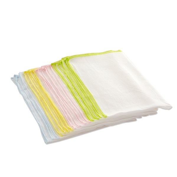 1 Piece White Baby Bathing Towel Vomit Milk Towel Cotton Gauze Water Absorbent Soft Baby 68X50Cm