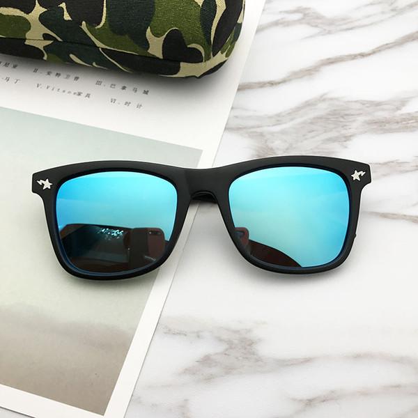 Femmes Designer lunettes de soleil Shark Print Marque Full Frame Cat Eye Lunettes Classic Mirror Lunettes De Soleil De Luxe Offre Spéciale