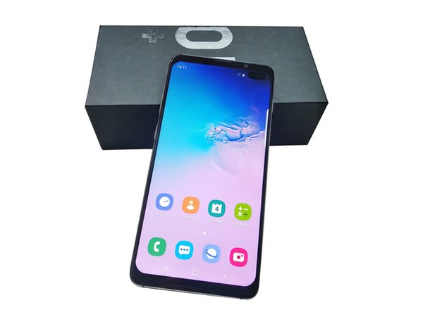 2019 New goophone S10 S10+ smartphones Android 8.0 octa core 4G RAM 128G Shown 4G LTE 6.5 inch HD unlocked dual sim phones Free DHL