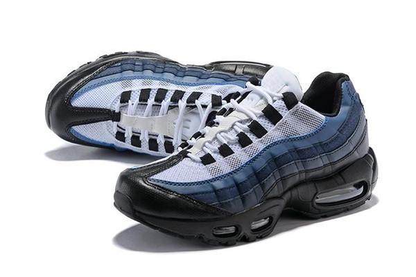 2019 Ucuz Yeni Ultra 95 OG X 20th Yıldönümü Erkekler Koşu spor Ayakkabı 95 s Hava Yastığı Siyah Sole Gri Mavi Erkek Eğitmenler Tenis Sneakers