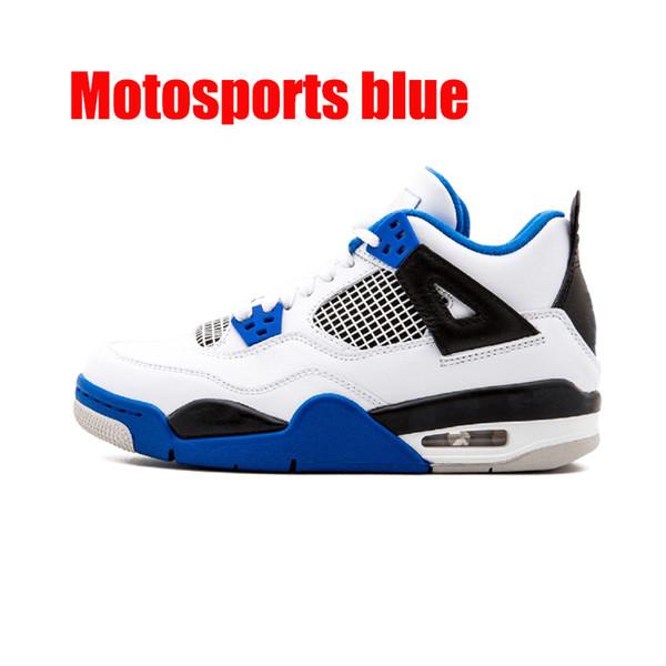 Motosports bleu