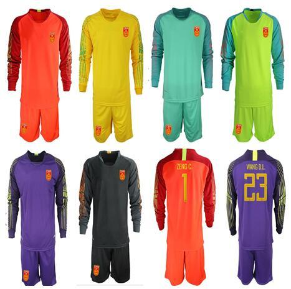 super popular 39762 fcc36 2019 2018 19 China Soccer Jerseys Goalie Soccer Shirt Short Sleeves Long  Sleeve Uniform Soccer Sets Goalkeeper Shirt From Zhuhao2, $18.44    DHgate.Com