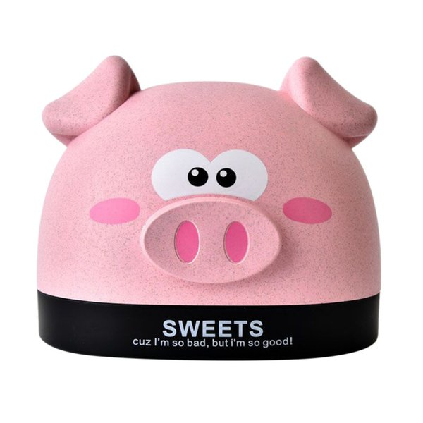fashion nordic style Tissue Box home decoration accessories cute and attractive small pig shape design organizer case