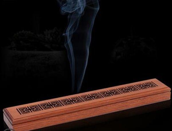 2019 Household Wood Fragrant Incense Burner Agarwood Sandalwood Incense  Burner Aromatherapy Incense Wood Mahogany Lying Box From Cx324, $34 17 |