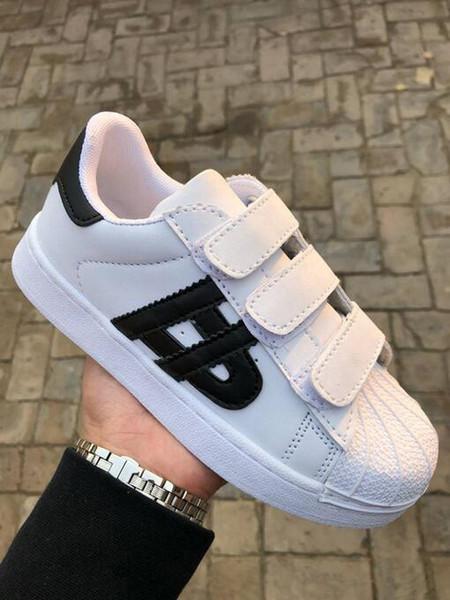 Precio más bajo CALIENTE NUEVO SNEAKERS ZAPATOS DE CUERO CASUAL Zapatos de niños ZAPATOS DE JUGGING DEPORTIVOS ZAPATOS CLÁSICOS DE NIÑOS gacela para niños