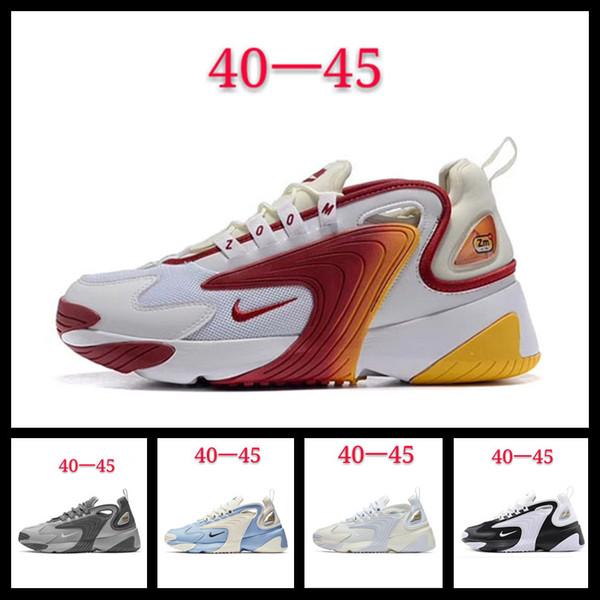 [Com esporte assista] Designer shoes Nike men women Fantasma 2019 M2k Tekno Zoom 2k Das Mulheres Dos Homens Tênis de corrida Pure Platinum Gunsmoke Sapatos Velhos Esportivos Mens
