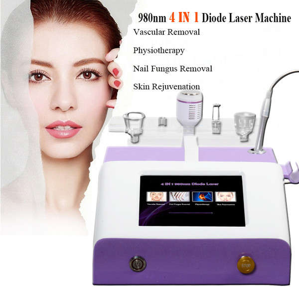 Big promotion 980nm Blood Vessels Removal red vein removal laser skin mole removal Aluminum box packaging