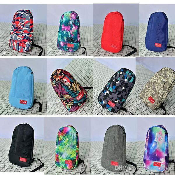 Gürteltasche Brusttasche S UP Unisex-Mode Gürteltasche Männer Canvas Hip-Hop Gürteltasche Männer Messenger Bags 35 Artikel auf Lager
