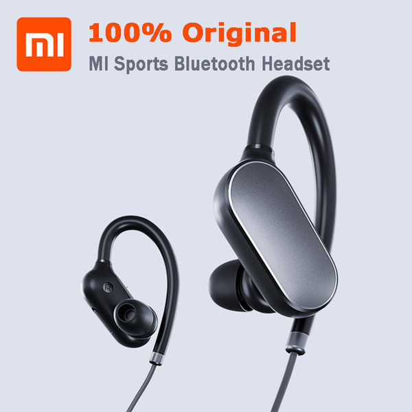 New Original Xiaomi Mi Sports Bluetooth 4.1 Headset Xiaomi Wireless 5 Earbud With Microphone IPX4 Waterproof Sweatproof