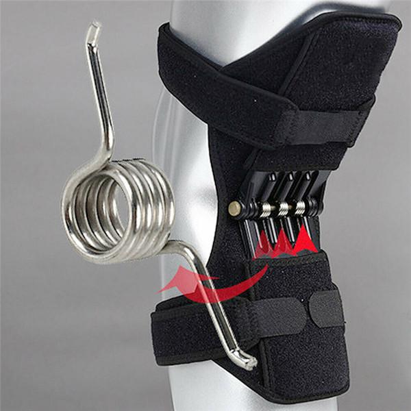 Genouillères de soutien de genou sangle de rotule respirant anti-dérapant Sports Fitness Power Spring Force Patella Protector