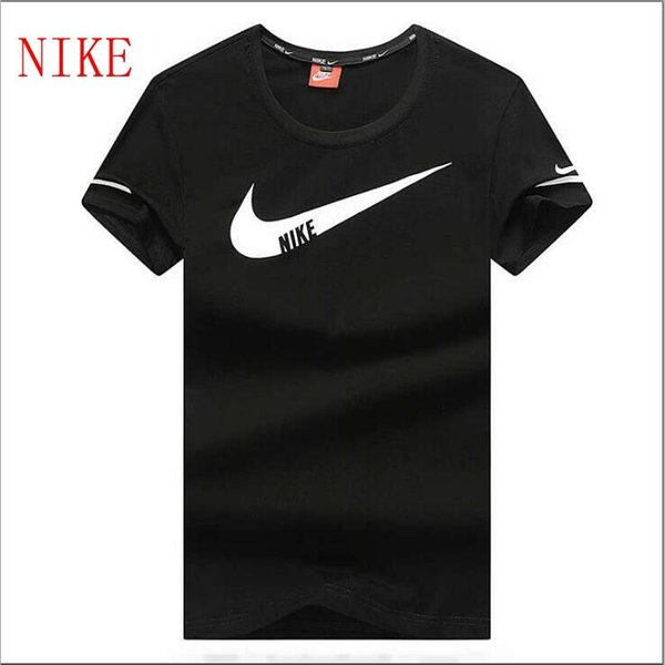 7f2617bfc5 NEW NIKE Men'S T Shirts Cotton Mens Summer Short Men'S Clothing T Shirt  Men'S Tees & Polos Size L 4XL Tee Shirt For Sale Worlds Funniest T Shirts  From ...