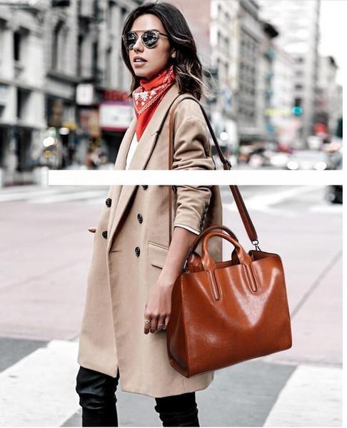 Brand New Bolsas de Ombro de Couro de Luxo Bolsas Carteiras de Alta Qualidade Para O Saco Das Mulheres Designer Totes Messenger Bags Corpo Cruz 1346