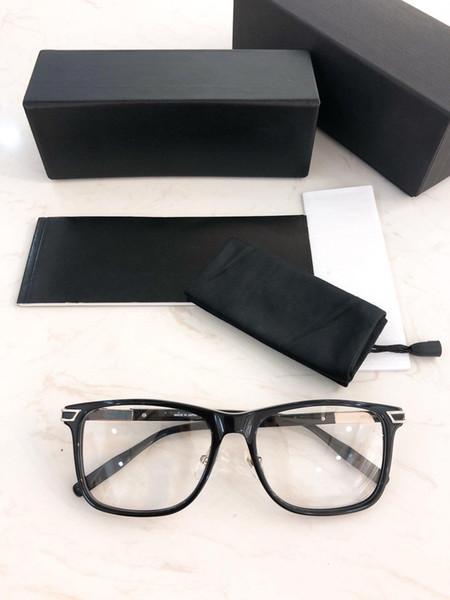 Entwickelt Brillengestell-2019 neue hochwertige Platte großen quadratischen Rahmen Mode Brillengestell Männer Brillengestell 0042O