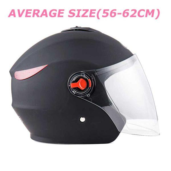 Vendas quentes PP capacete capacete de plástico Unisex capacete da motocicleta para todas as estações, tamanho médio lente Anti-fog, frete grátis
