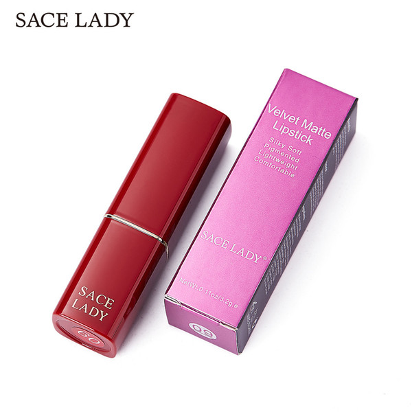 DHL Private Label 12Color Matte Lipstick Waterproof Velvet Nude Stick Make Up Long Lasting Red Pink Mate Sexy Beauty Lip No Fade Cosmetic