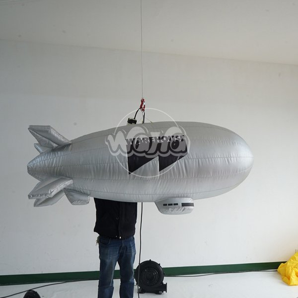 new fashion outdoor decoration inflatable rocket model custome inflatable blimp