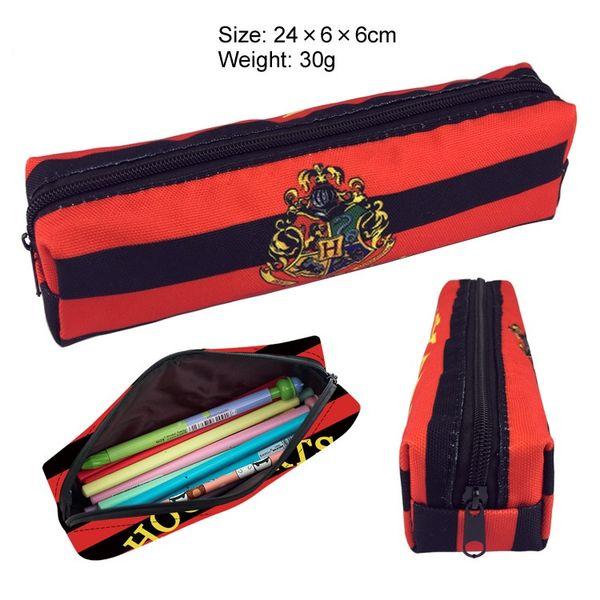 Pencil Bag Purse Hogwarts School Kids Gift Special Purpose Bags Magic Badge Pen Bag Kids Gift Toys For Children