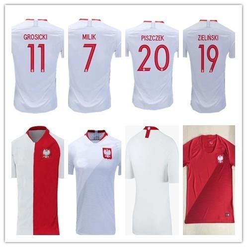 19 2019 poland soccer jerseys Special-Edition 100 years Anniversary white red 19 20 MILIK 7# GLIK 15# LINETTY 8# football shirts