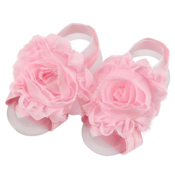 핑크 BABY 맨발 신발