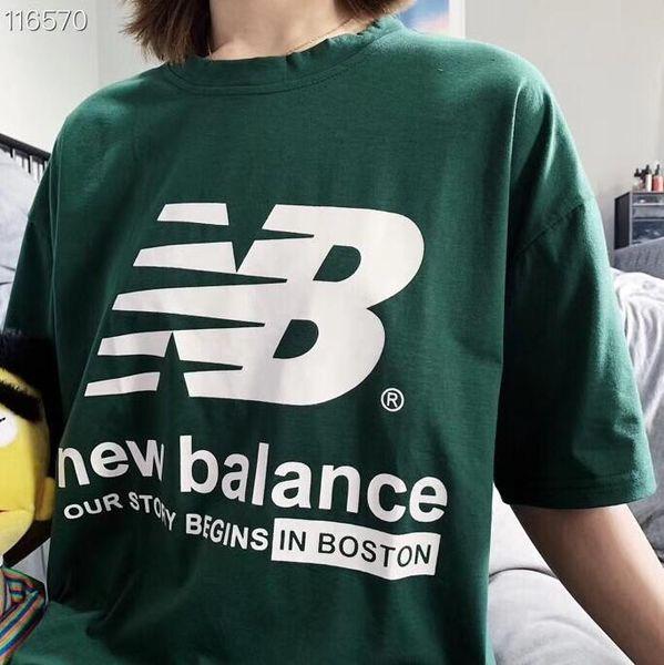 Оптовая Летняя Мода Мужчины женские Рубашки Новый Бренд Футболка Чистого Хлопка Печати Свободный Тип Простой Мода Дышащий унисекс Футболки Q3