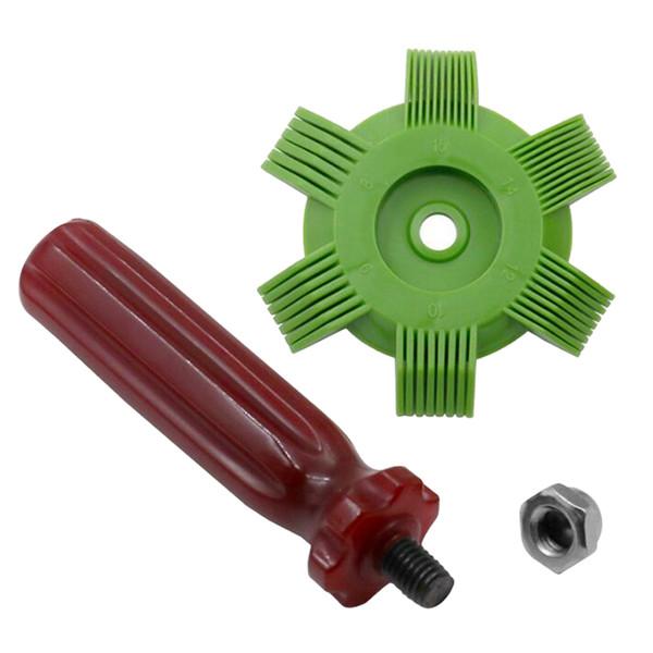 best selling Radiator Condenser Fin Repair Comb Fin Straightener Cleaner Tools 64mm Diameter