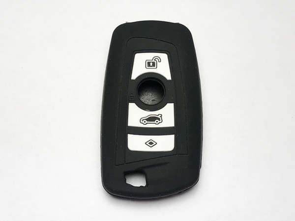 Pimall 3 Buttons Silica Gel/Silicone Smart Key Cover for 5 6 Series M6 B M W Available