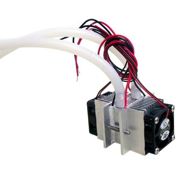 Kits de bricolaje Sistema de enfriamiento de refrigeración termoeléctrica Peltier Refrigeración por agua + ventilador + 2 piezas TEC1-12706 Enfriadores