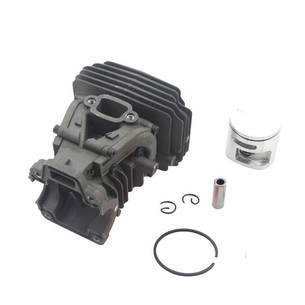 44MM Cylinder Piston Kit For Husqvarna 445 445e 450 450e Chainsaw # 544 11 98 02 Ring Pin By Farmertec