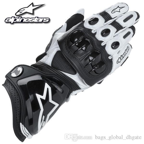 A-Запускает GP Pro Профессиональные мотогонок перчатки высокого качества PU материал для Спорта на открытом воздухе езда перчатки дышащий